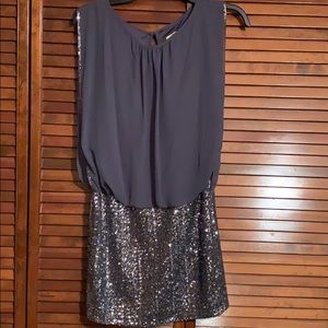 Stunning charcoal dress